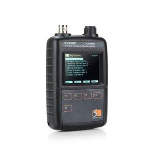 Image 3 - New HF Vector Impedance Antenna Analyzer KVE60C 0.5MHz   60MHz for walkie talkie