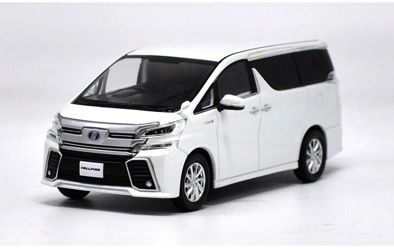 1:30 modèle moulé sous pression pour Toyota Alphard VELLFIRE blanc MPV alliage jouet Miniature Collection cadeaux