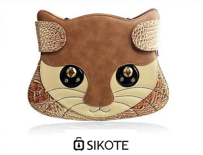 ФОТО SIKOTE  Cute cat bag tide woman must shoulder Messenger bag
