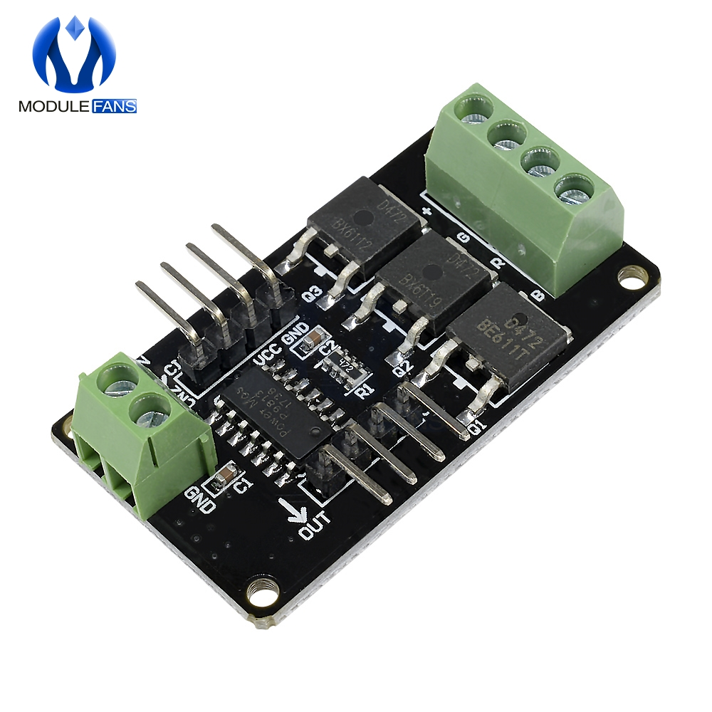 For Arduino UNO R3 For MCU System LED Strip Driver Module V1.0 For Arduino STM32 AVR 12V DC 5V MCU Full Color RGB Board One