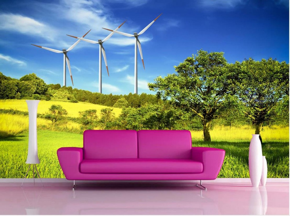 Compare prices on pictures windmills online shopping buy for Wallpaper home value