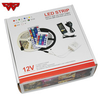 5050RGB Suit LED Colorful Lamp Strip 12V60 Lamp Bare Board Dripping Glue Waterproof Lamp Belt Set Free Shipping