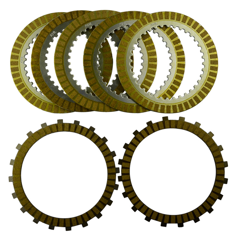 A set Motorcycle Engine Parts Clutch Friction Plates Kit Steel Plates For SUZUKI M109R M109 R