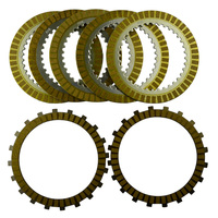 A Set Motorcycle Engine Parts Clutch Friction Plates Kit Steel Plates For SUZUKI M109R VZR1800 2006