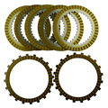 A set Motorcycle Engine Parts Clutch Friction Plates Kit & Steel Plates For SUZUKI M109R M109 R VZR1800 VZR 1800 2006-2011