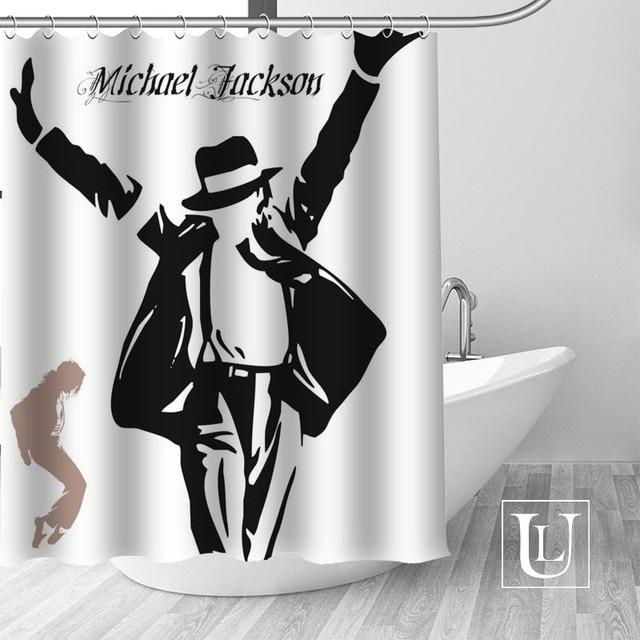 20 Shower Curtain Michael jackson shower curtain jackson galaxy 5c64f7a44ec73