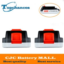 2X High Quality 20V 2000mAh Li ion Rechargeable Battery Power Tool Replacement Battery for BLACK DECKER