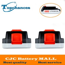 2X High Quality 20V 2000mAh Li-ion Rechargeable Battery Power Tool Replacement Battery for BLACK & DECKER LB20 LBX20 LBXR20