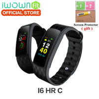 IWOWN i6 hr c Original IWOWNFit i6 HR C with Color Screen Heart Rate Monitor Wristband with Fitness Tracker Sport Smart Band