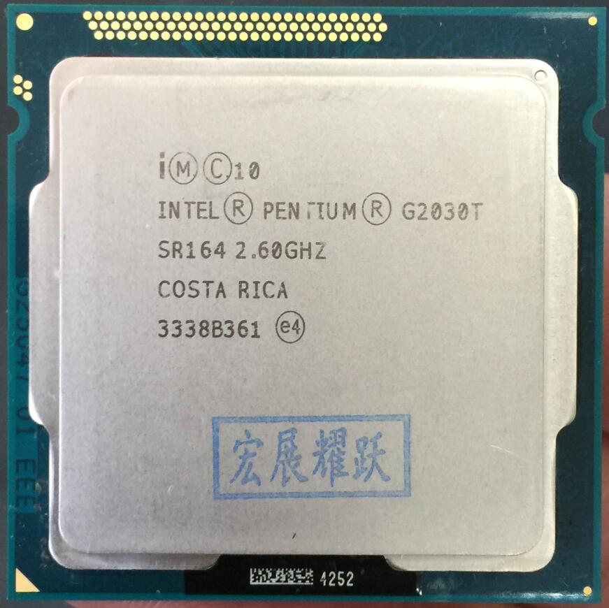 Intel  Pentium  Processor G2030T  CPU LGA 1155 100% Working Properly PC Computer Desktop CPU