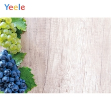 Yeele Wood Natural Photocall Fresh Grapes Wallpaper Photography Backdrops Personalized Photographic Backgrounds For Photo Studio