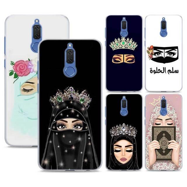 super popular b5c90 b288a US $2.24 25% OFF|Muslim Islamic girl In Hijab Face Pattern transparent  Phone Cover Fundas Coque for Huawei Mate 10 Lite 9 Mate 20 Lite P10 P20  Li-in ...