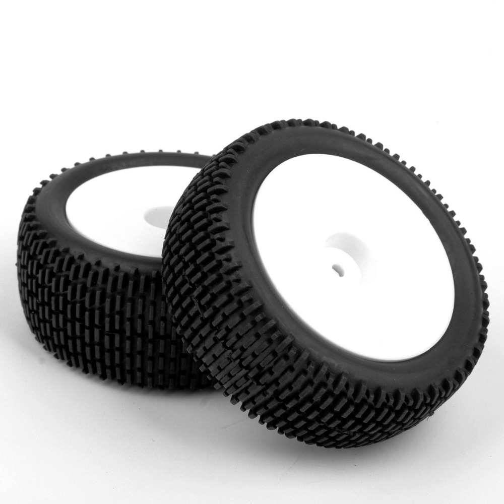 1/10 Scale Car/Buggy Model Tires & Wheel For RC Off-Road Buggy Car Toys Accessory rc car sponge tires and wheel 12mm hex foam tires for 1 10 scale on road racing car model toys accessory