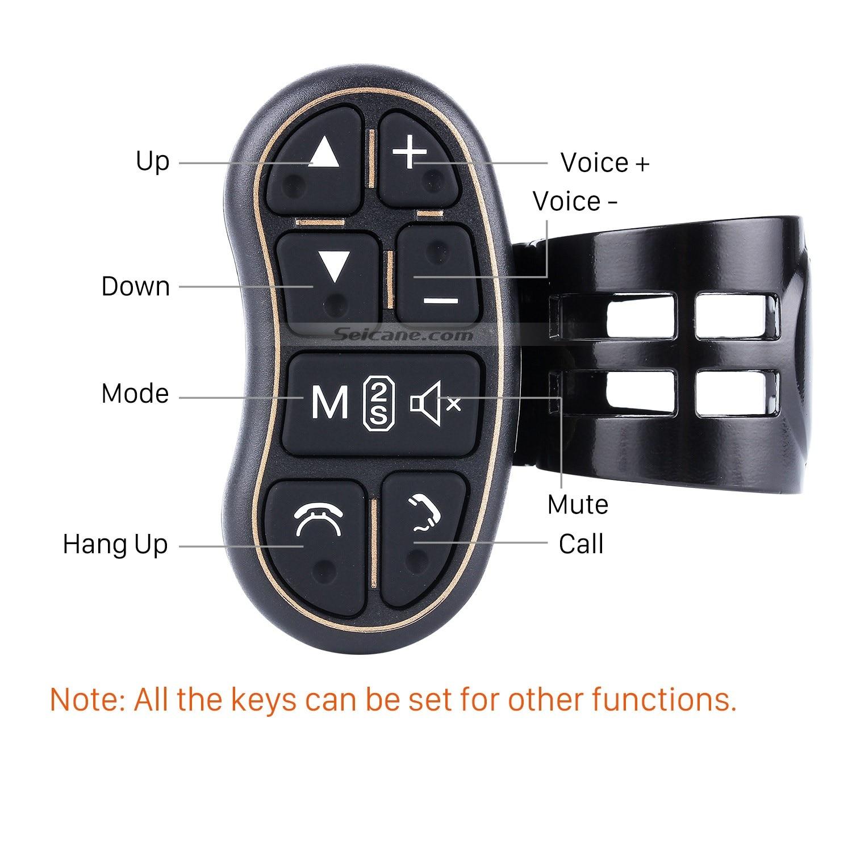 Car universal multifunctional wireless steering wheel controller for