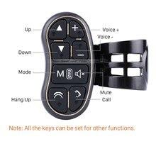 Seicane кнопок рулевого колеса автомобиля Автомобильный руль контроллер ключ Беспроводной пульт дистанционного управления для автомобилей dvd-плеер Радио GPS