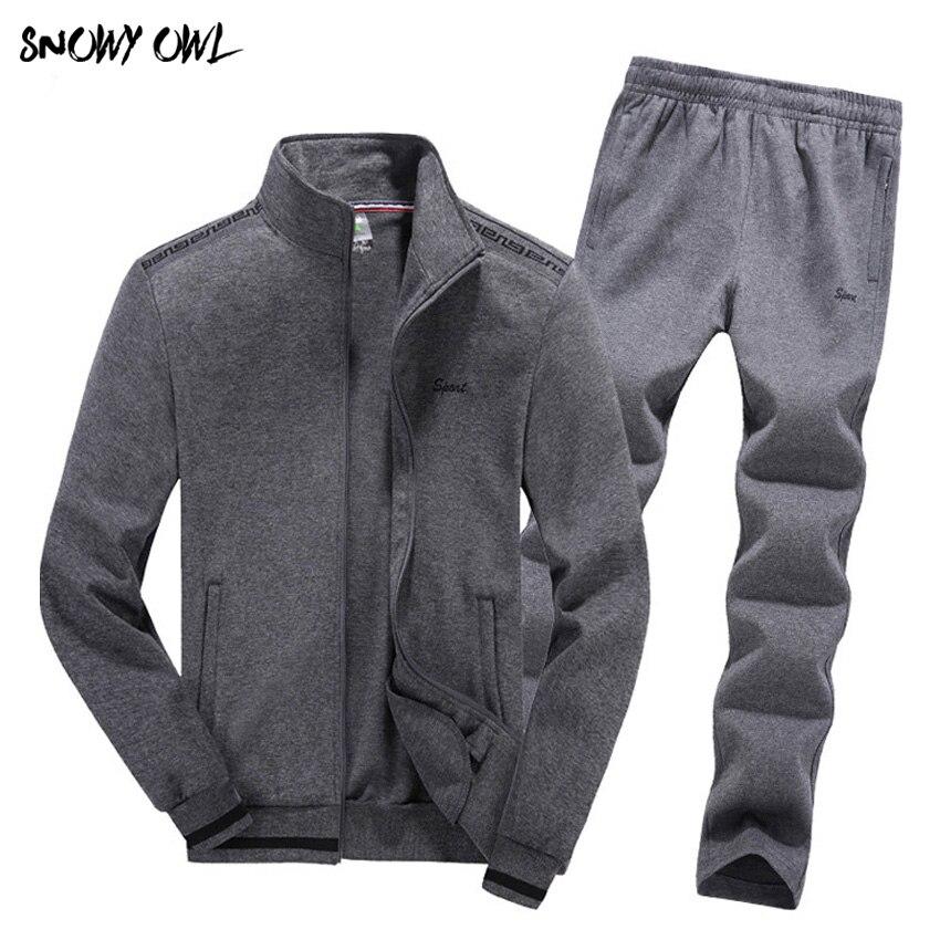 2018 Spring New Leisure Suit Uniform Suit Man Palace Men Sport Suit Set Youths Mens Tracksuit Male Sports Suits Big Size 115zr gang of youths adelaide