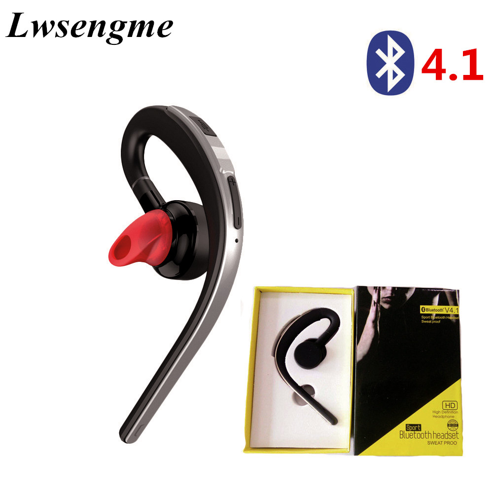 <font><b>Bluetooth</b></font> 4.1 Earphone <font><b>Headsets</b></font> Office <font><b>Bluetooth</b></font> Headphones with Mic Voice Control Noise Cancel Music Earbud for Android Iphone