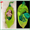 Caliente venta 3 unids establece bebé recién nacido apoyos de la fotografía sombreros, infantil frijol tejer Crochet Set costume, suave para bebés Muts HA004