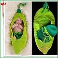 Hot Sale 3Pcs Set Newborn Baby Photography Props Hats,Infant Bean Knitting Crochet Costume Set,Soft Baby Muts HA004