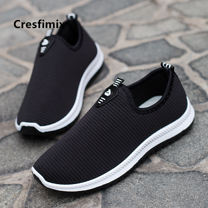 Cresfimix Male Fashion High Quality Comfortable Flat Shoes Men Cool Spring & Autumn Shoes Soft Breathable Shoes Zapatos B5427b