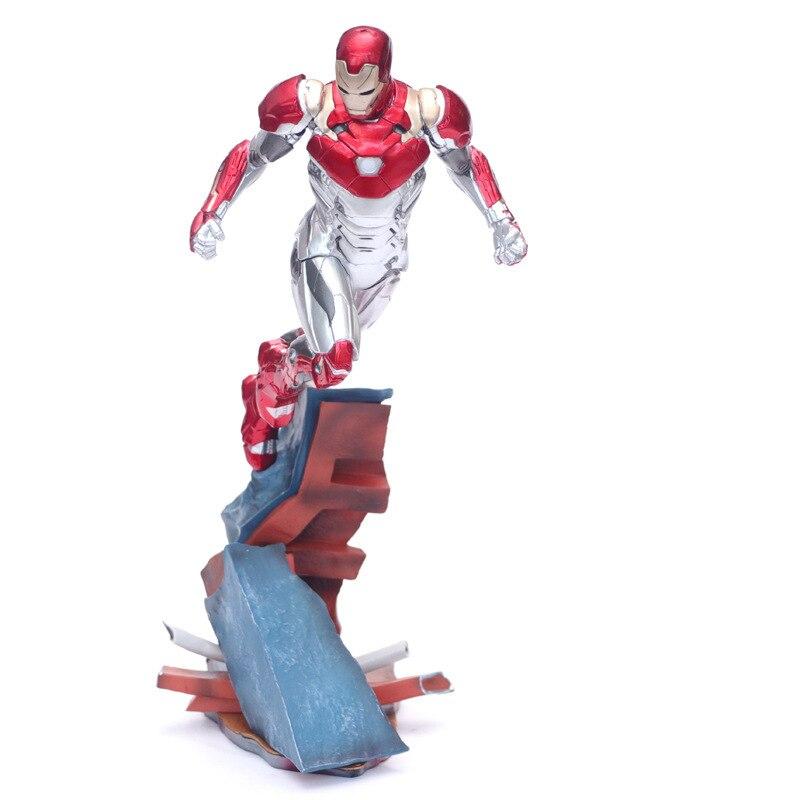 DIANXIA H27cm Anime Avenger Iron Man MK47 Spider Man Super Hero Action Figure Toys For Children Kids DX058DIANXIA H27cm Anime Avenger Iron Man MK47 Spider Man Super Hero Action Figure Toys For Children Kids DX058
