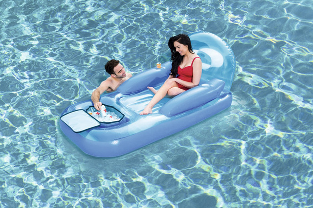 Play Equipment Inflatable Pool Floating Ocean Park Water Fun Strong Lounge Chairs Air Bed with Can  sc 1 st  AliExpress.com & Play Equipment Inflatable Pool Floating Ocean Park Water Fun Strong ...