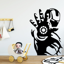 Classic super hero Vinyl Wallpaper Kids Room Decoration Home Living Mural adesivi murali