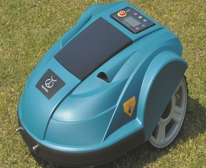 Automatic Lawn Mower with Virtual Fence