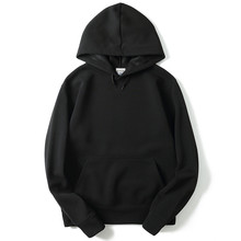 Autumn Winter 2017 New brand Hoodie Streetwear Hip Hop Red Black Gray Pink Hooded Hoody Mens Hoodies and Sweatshirts Size M-XXL(China)