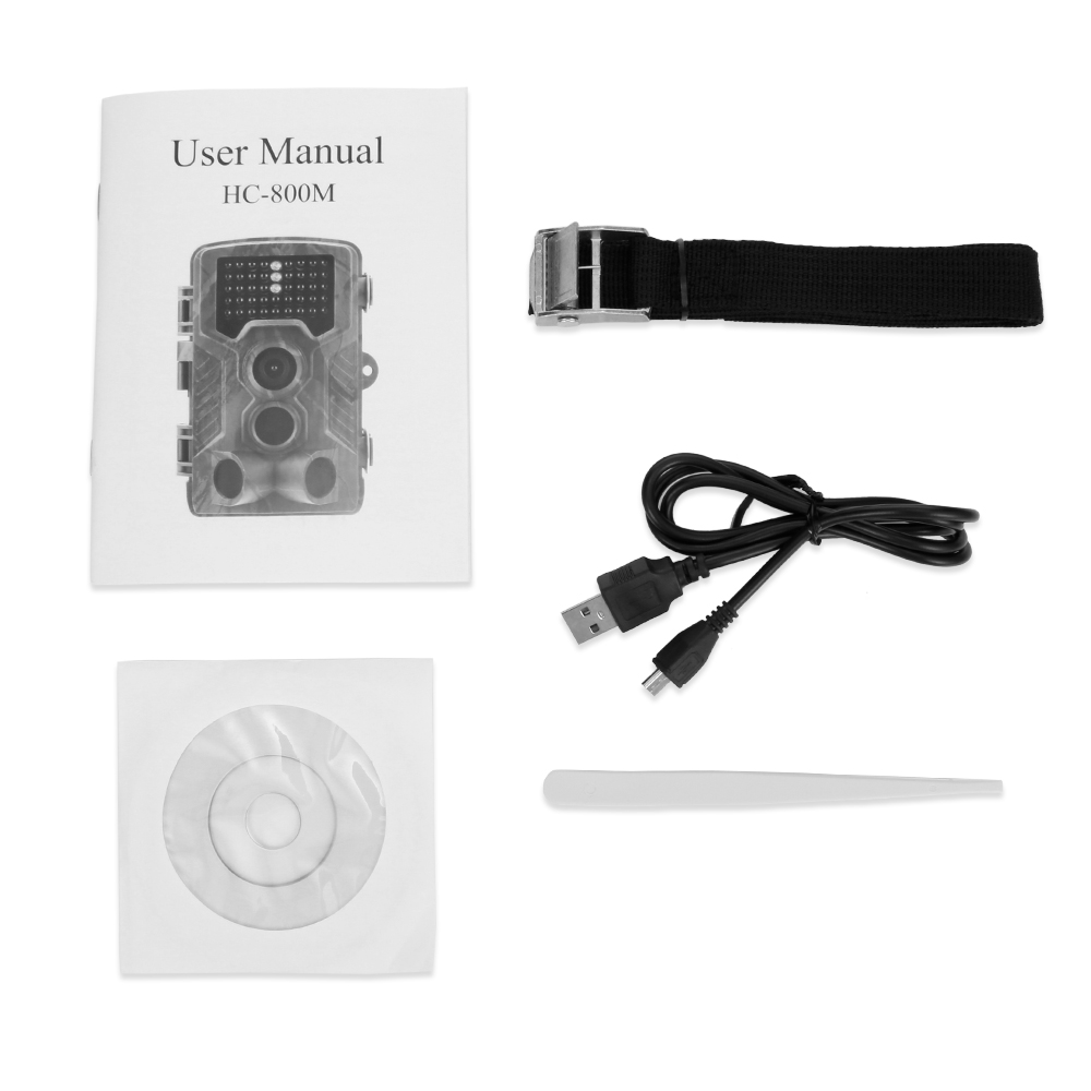 Caméra de piste de chasse HC-800M Outlife sans fil étanche chasse sauvage caméra de Vision nocturne infrarouge GSM GPRS caméra de pièges numériques - 6