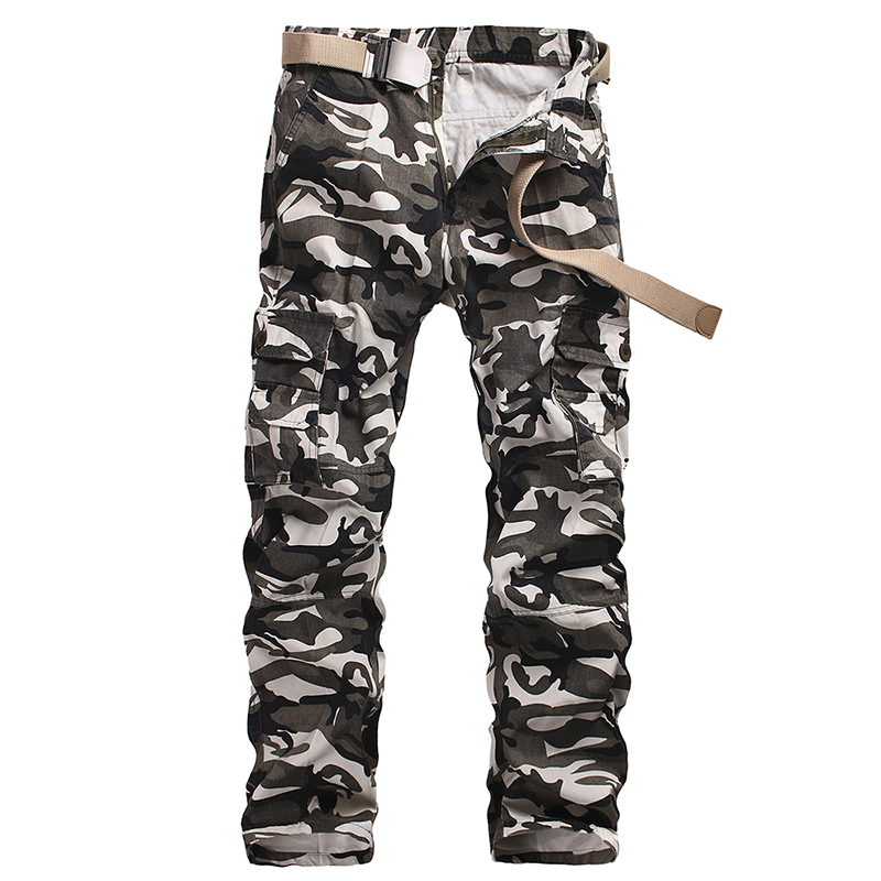 2017 hot sale tactical mens pants Cargo casual Pants Combat SWAT Army active Military work Cotton male Trousers mens