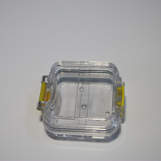 70 unids/lote caja de dientes dentales de alta calidad con película almacenamiento para dentadura caja membrana contenedor para dientes funda, soporte
