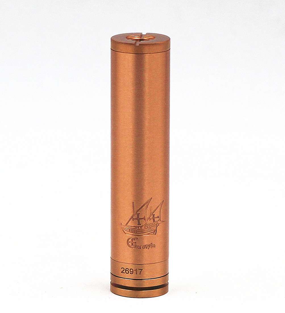 Caravela Mechanical MOD Vape Clone Vaporizer Stainless Steel 18650