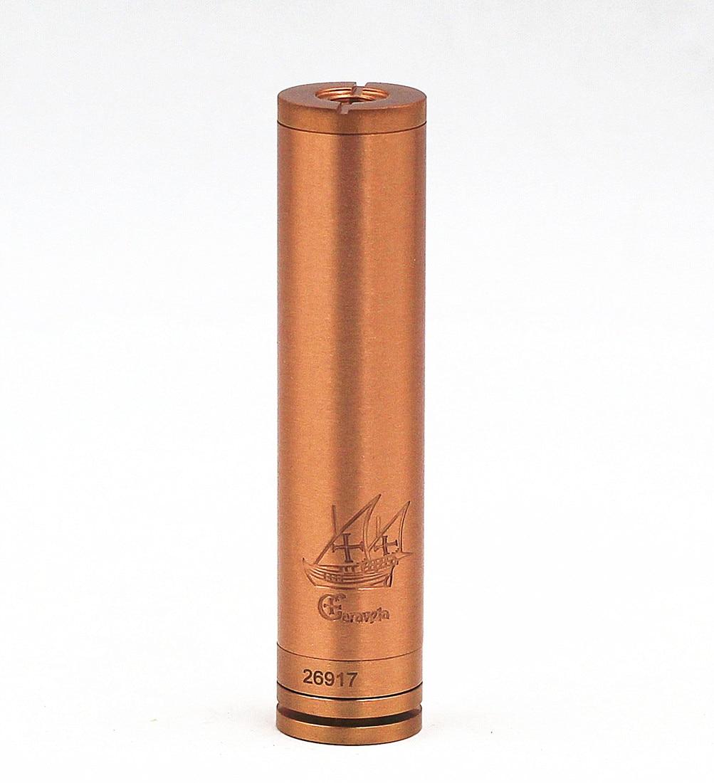 Caravela Mechanical MOD Vape Clone Vaporizer Stainless Steel 18650