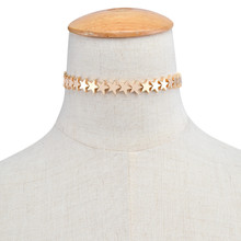Fashion Star Choker Necklace women