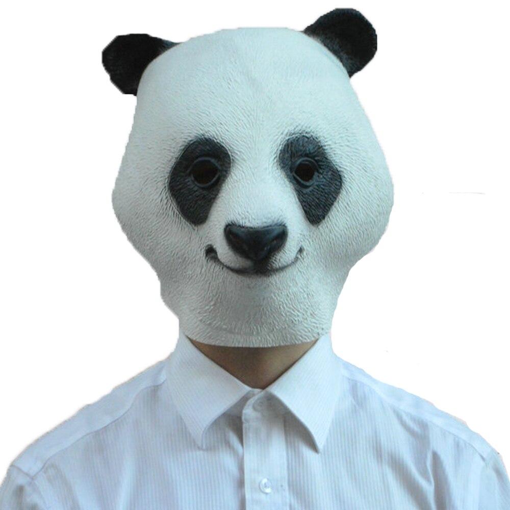 Životinjska maska za glavu Panda kostim za rekvizite za - Za blagdane i zabave - Foto 1