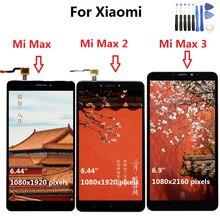 Xiao Mi Mi Max Lcd Touch Screen Digitizer Vergadering Voor Xiao Mi Mi Max 2 Lcd Max2 Max 3 screen Vervanging Zwart Wit