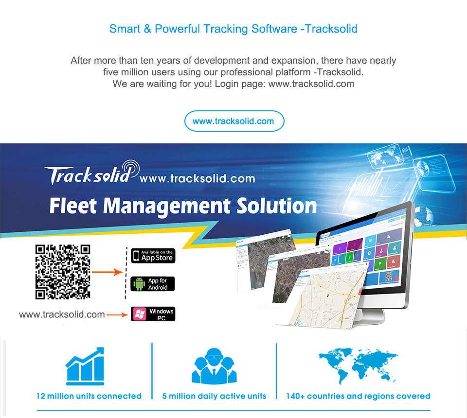 US $9 88 |Concox GPS Tracking Software Tracksolid GPS Tracker Instant  tracking Review History Playback,Geo fences, Insightful Reports APP-in GPS
