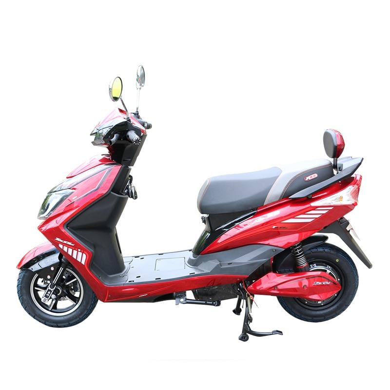 Motos électriques 1000 W avec moteur de moyeu sans brosse 60 V 1000 w 60 V 20A batterie au Lithium Alumiunm batterie vélo électrique de luxe