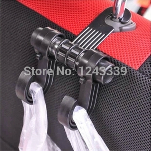 In Car Use 360 degree rotation Seatback Hook for Cars (MAX 6KG)