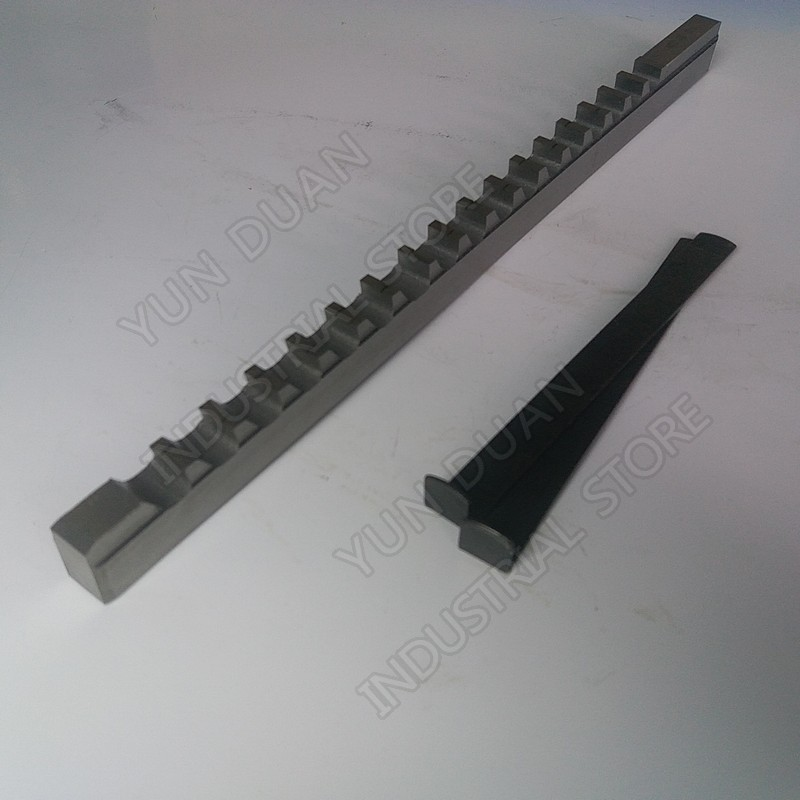 Keyway Broach 14mm D Push Type High speed steel HSS Cutting Tool for CNC Broaching machine