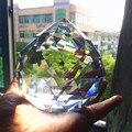 1 шт. 100 мм хрустальные Висячие шары  ограненные стеклянные призмы  люстра  подвески  бусы  занавеска  подвесное украшение  домашний декор  сде...