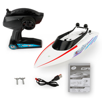 3323 2.4G Remote Control Boat Summer Water Toy Electric Racing RC Speedboat 4 Channel Waterproof Life Time 20 Minutes