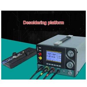 Image 3 - Station de dessoudage complète, SMD 5 en 1, Station de Maintenance, fer à souder, pistolet thermique avec alimentation électrique réglementée DES95