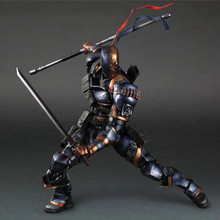 Movie Figure 25 CM Batman: Arkham Deathstroke  Movable PVC Action Figure Collectible Toy Model Christmas Gift