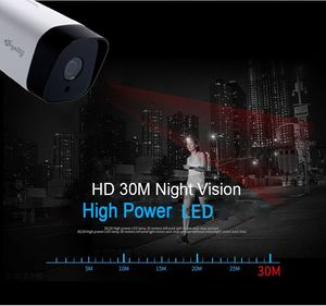 Image 4 - Kingkonghome POE IP Della Macchina Fotografica 1080P 2.8MM Metallo ONVIF Telecamera di Sicurezza di Rete CCTV P2P Motion Detection IP Esterno cam