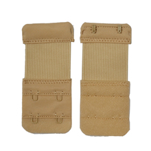 3PCS Elastic Bra Strap Extender 2 Rows 2 Hooks Clasp Strap Women Repalce Bra Extension Sewing Tool Intimates Bra Accessories