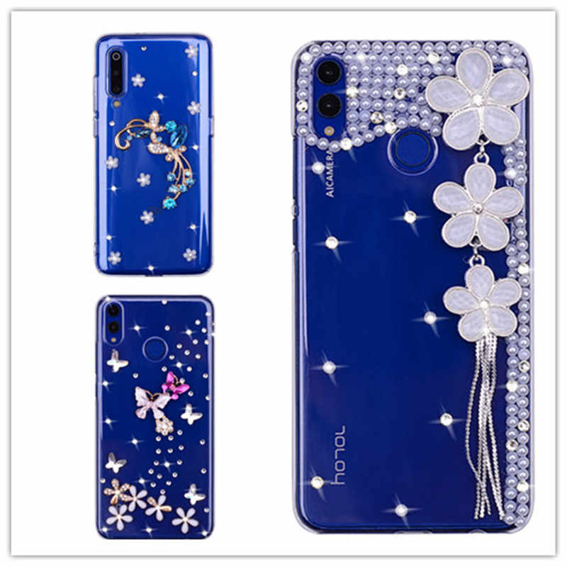 crystal Cover For Samsung Galaxy A30 A50 A80 A20E A60 A90 J2 J7 Prime S6 S7 Edge S8 S9 Plus A3 A5 A7 2017 A2 Core diamond Case