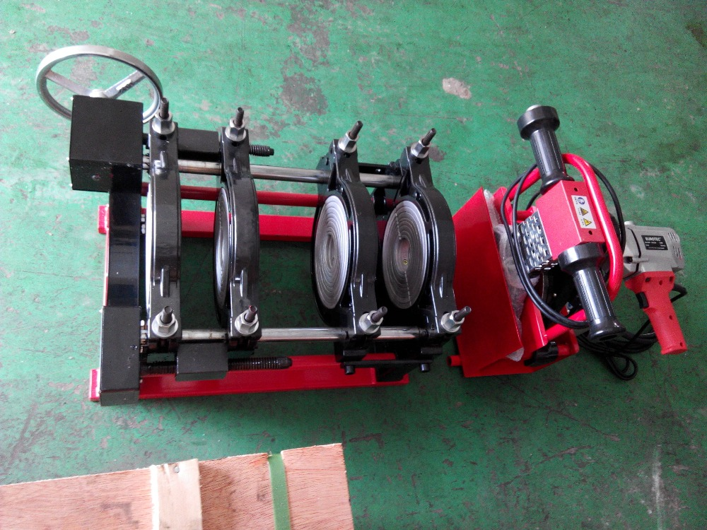 63MM-160MM Four Clamps HDPE Buttle Welding Machine Parts