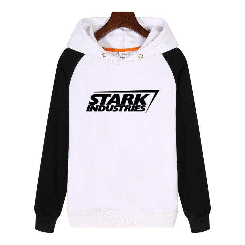 Stark Industries Iron Man Hoodies Men Women Sweatshirt Streetwear Hip Hop Hoody Clothes Hoodie Clothing Tracksuit T1233